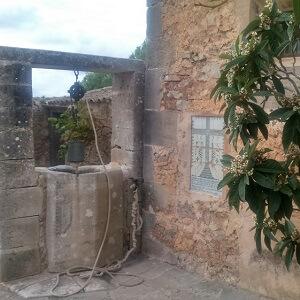 Der Brunnen im Kloster Consolacio