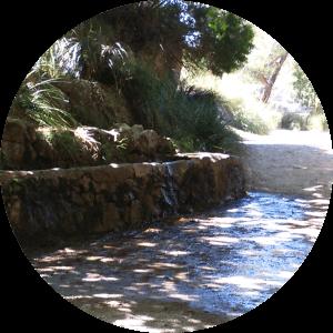 Quelle an der Ermita de Betlem