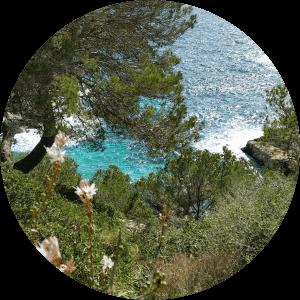 Blick in die Cala Santanyí